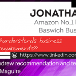 Jonathan Andrew recommendation and testimonial for Osmond Maguire