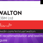 Stuart Walton recommendation and testimonial for Osmond Maguire