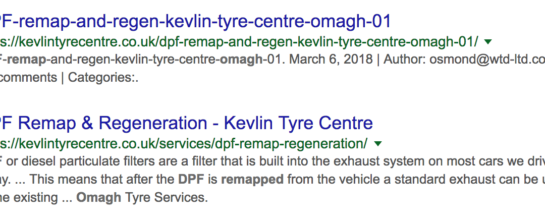We ranked DPF Remap Omagh on p1 of Google in under 24 hours