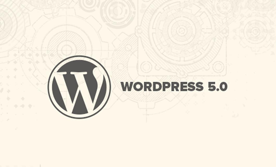 Upgrade to WordPress 5.0