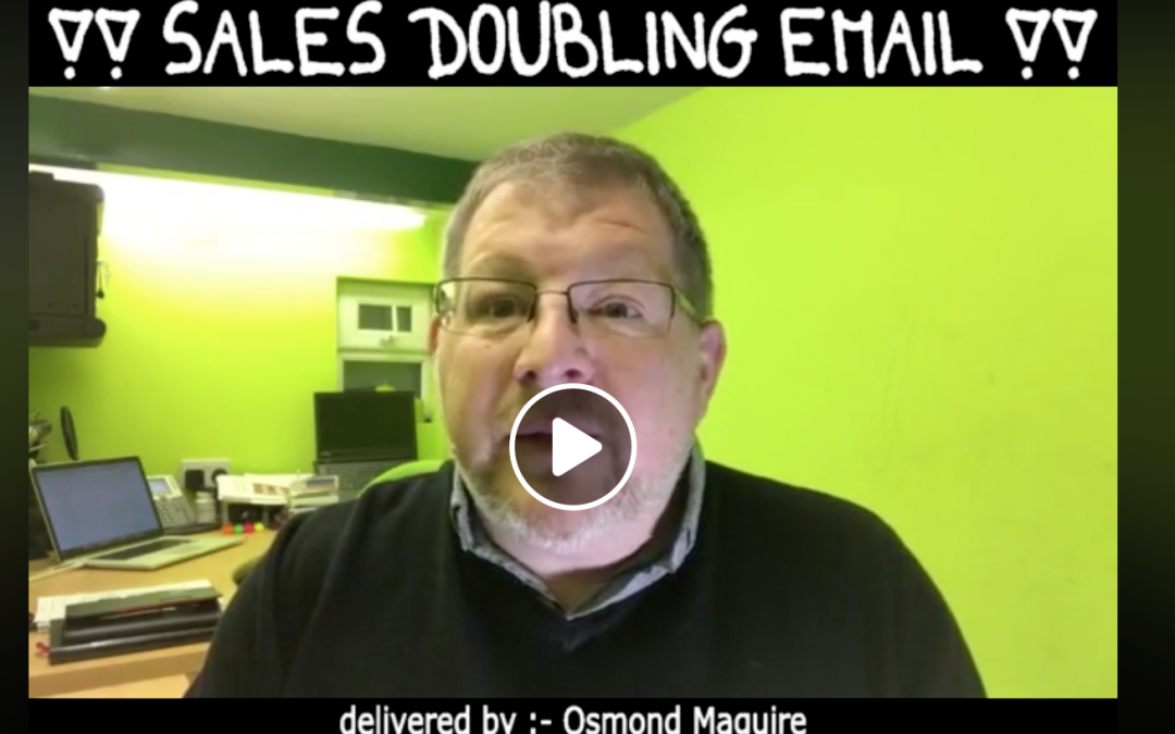 Sales Doubling Email Tricks