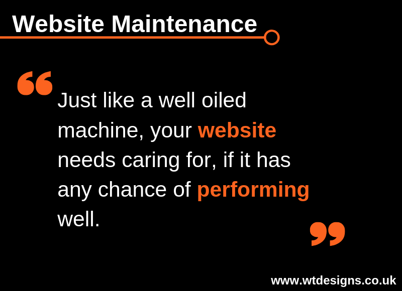 Website Maintenance Tip for Tuesday 9th April