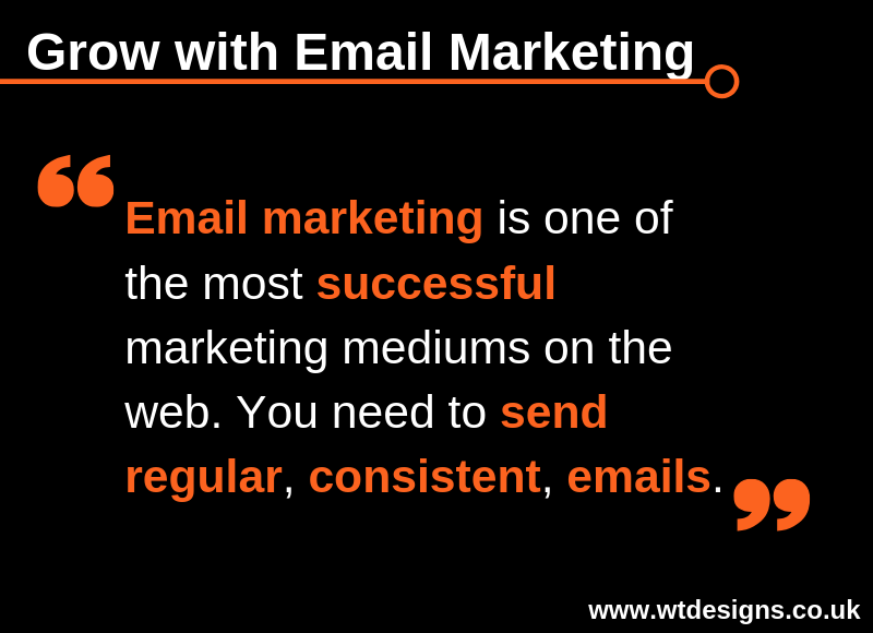 Email Marketing Tip for Thursday 18th April