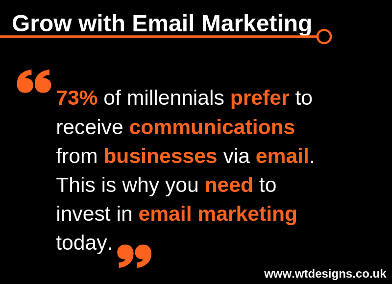 Email Marketing Tip for Thursday 25th April