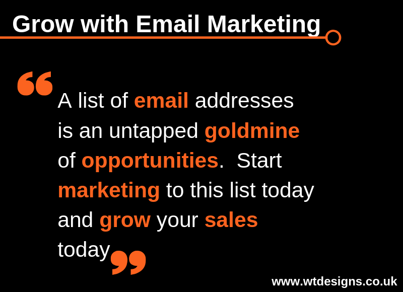 Email Marketing Tip for Thursday 11th April