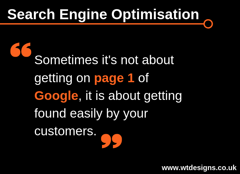 Search Engine Optimisation Tip for Monday 8th April