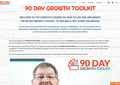 90 Day Growth Toolkit