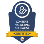 Osmond Maguire Certified Content Marketing Specialist