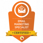 Osmond Maguire Certified Email Marketing Specialist