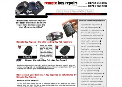 Remote Key Repairs